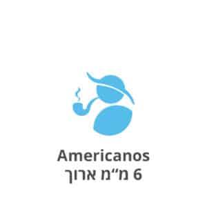 """אמריקנוס פילטרים 6 מ""""מ ארוכים Americanos 22mm/6mm filters"""