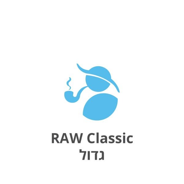 RAW Classic גדול