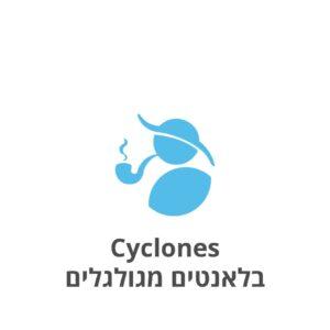 Cyclones בלאנטים מגולגלים במגוון טעמים