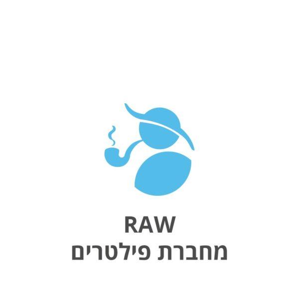 RAW מחברת פילטרים