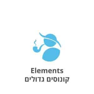 Elements קונוסים גדולים