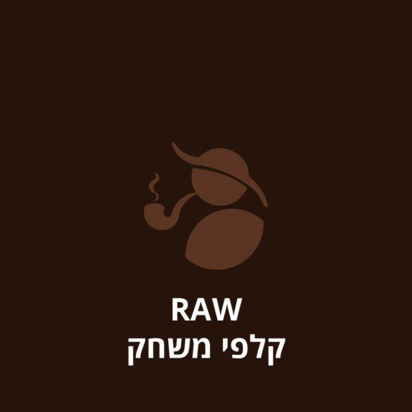 RAW קלפי משחק