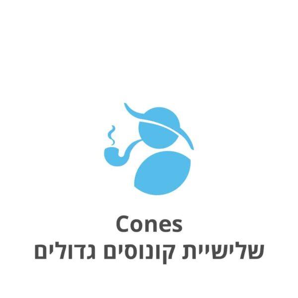 Cones שלישיית קונוסים גדולים