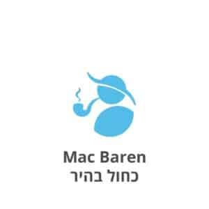 מק-בארן כחול בהיר