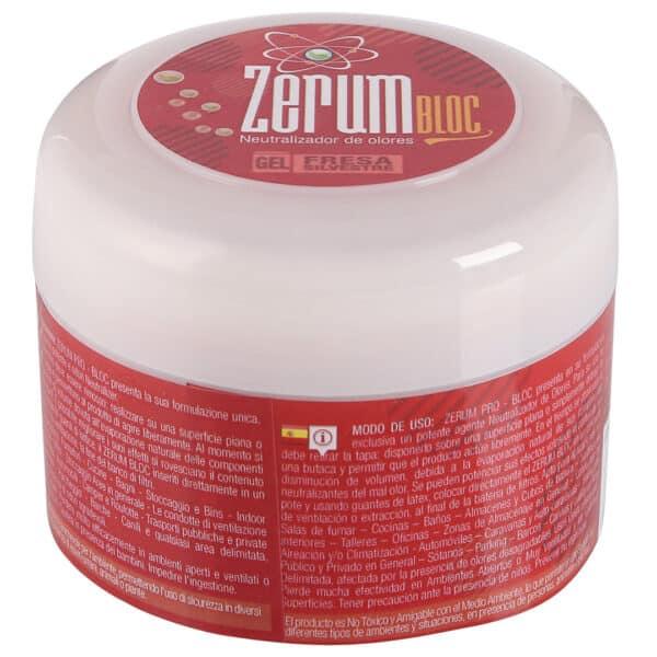Zerum Bloc ג'ל למניעת ריח - תות-יער