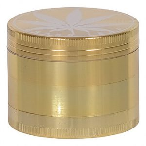 גריינדר 4 חלקים בינוני בצבע זהב
