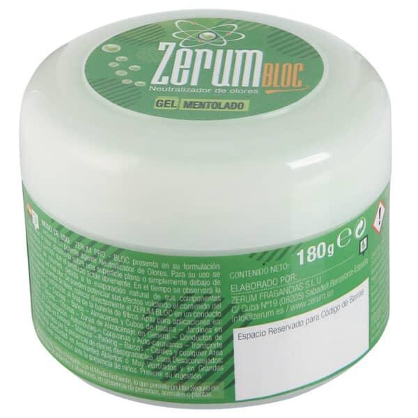 Zerum Bloc ג'ל למניעת ריח - מנטה