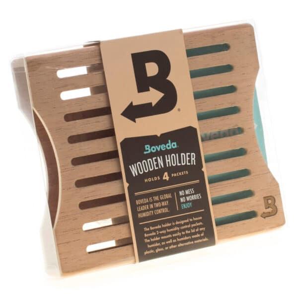 Boveda מתקן עץ ל-4 שקיות