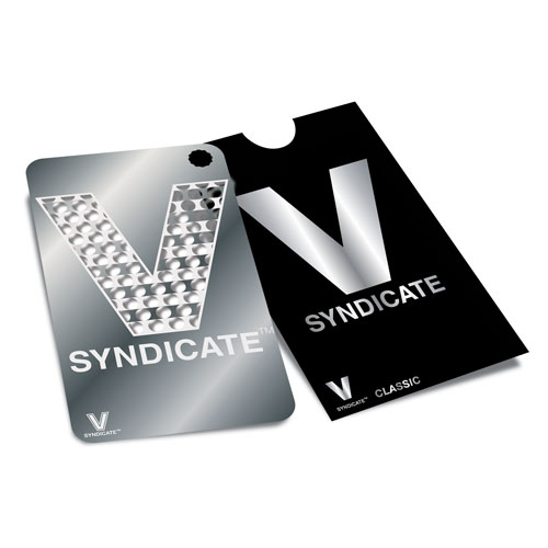 V Syndicate כרטיס גריינדר הסדרה הקלאסית דגם V