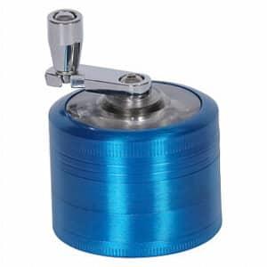 גריינדר מנואלה 4 חלקים - אביזרי עישון קנאביס - טבק עבודי