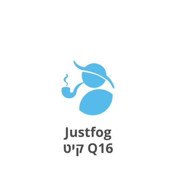 Justfog Q16 Starter Kit ג'אסטפוג קיו16 ערכה למתחילים