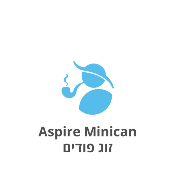 Aspire Minican 2-Pack Pods זוג מחסניות למילוי לאספייר מיניקאן