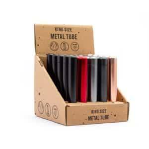 Real Leaf King-Size Aluminum Joint Case ריליף שמרפאף אלומיניום עם הברגה גדול
