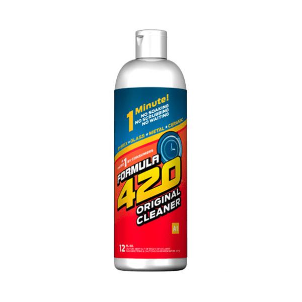 "Formula 420 Original Cleaner 350ml פורמולה 420 נוזל נקיון לכלי עישון 350 מ""ל"